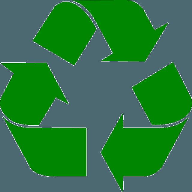 Käytämme mahdollimman paljon kierrätysmateriaaleja